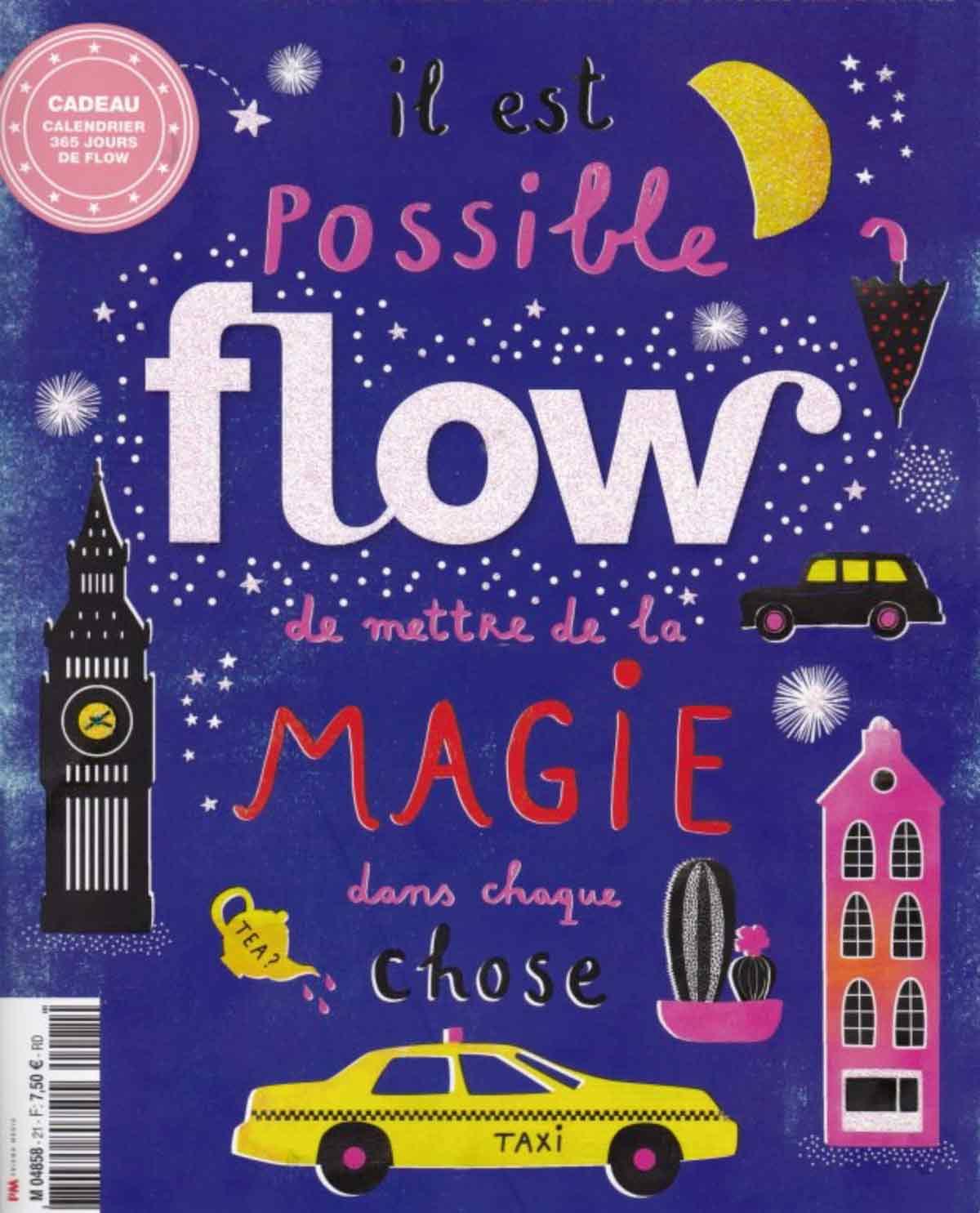 Flow magazine et les Mots Doux